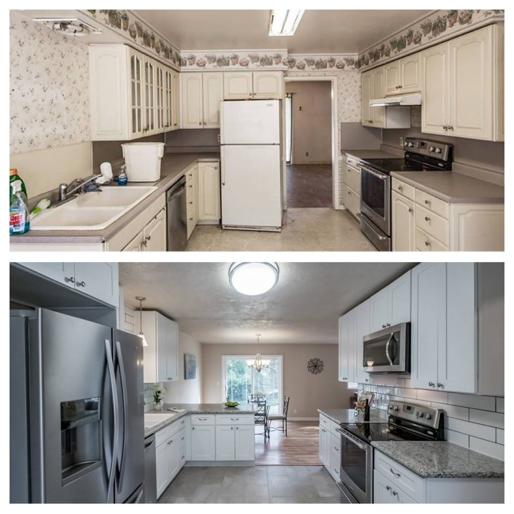 Before/After Kitchen