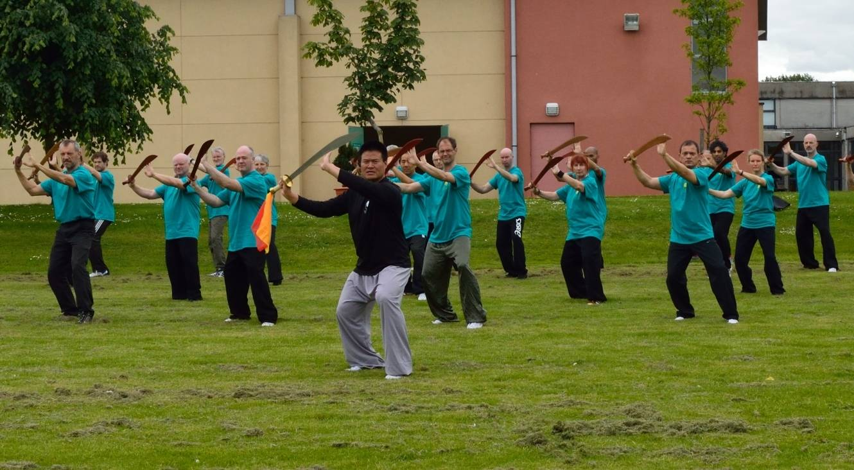 Ireland Taiji Camp 2013 with Master Wang Hai Jun