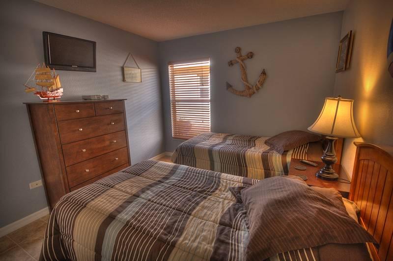 Nautical theme bedroom (TV+Playstation)
