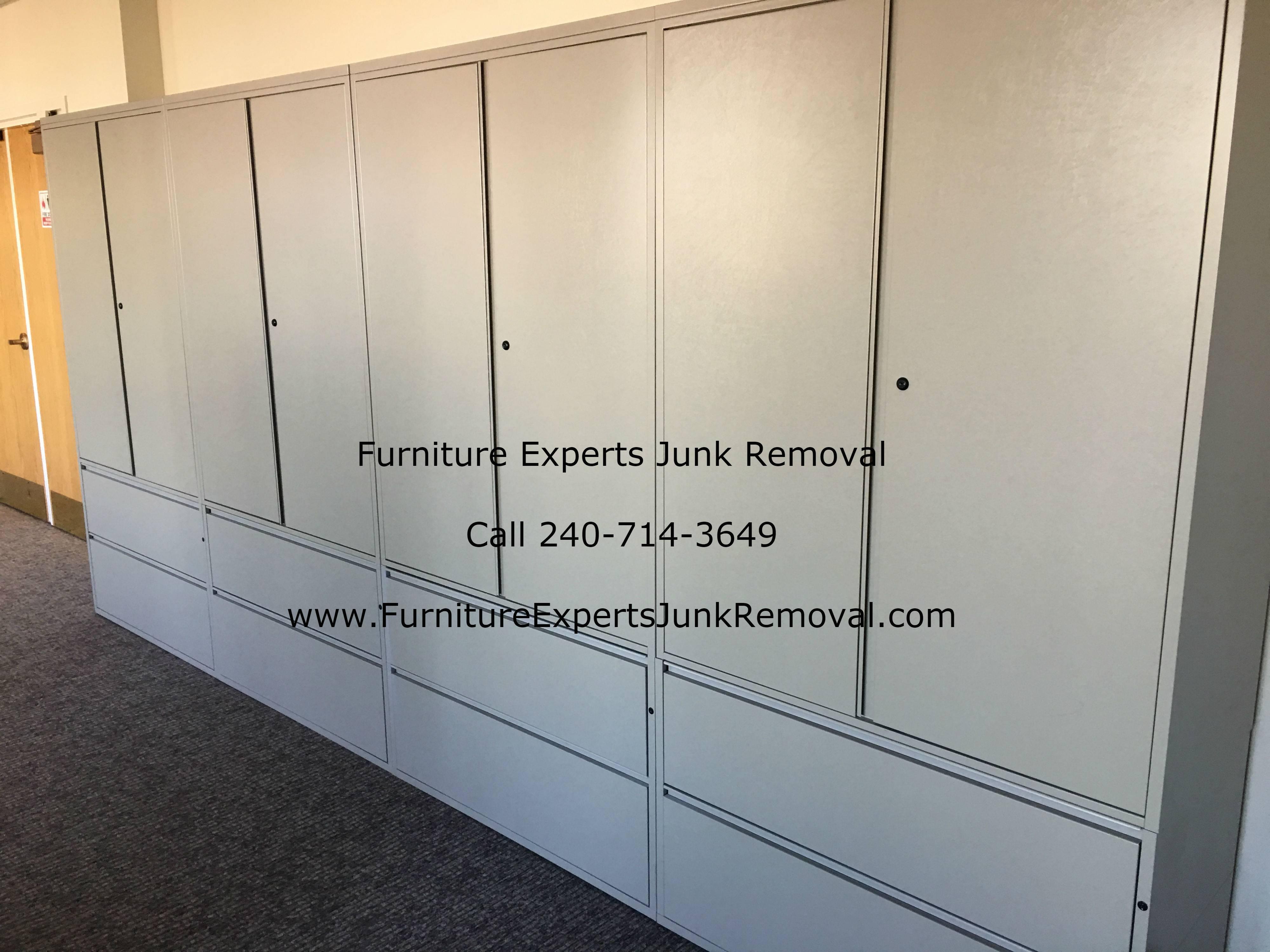 Junk office furniture removal in Ashburn VA