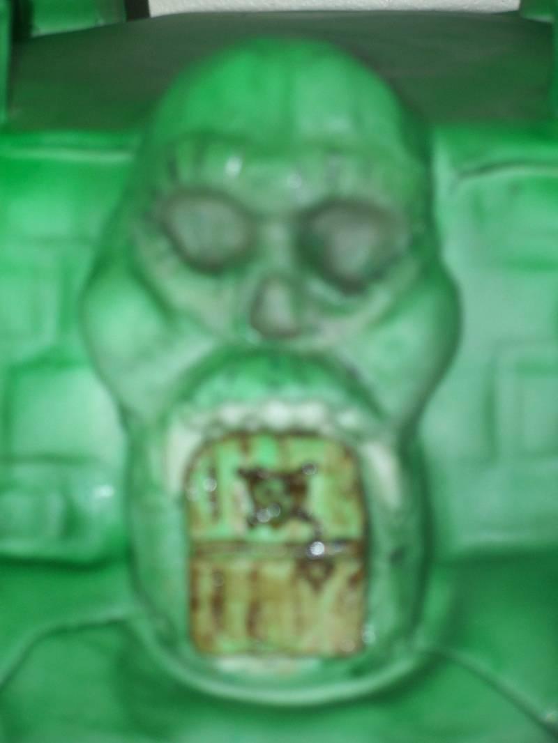He Man Castle Grey Skull drawbridge door