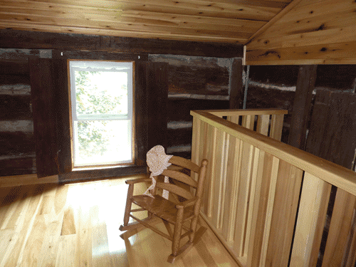 Another angle on the upstairs bedroom