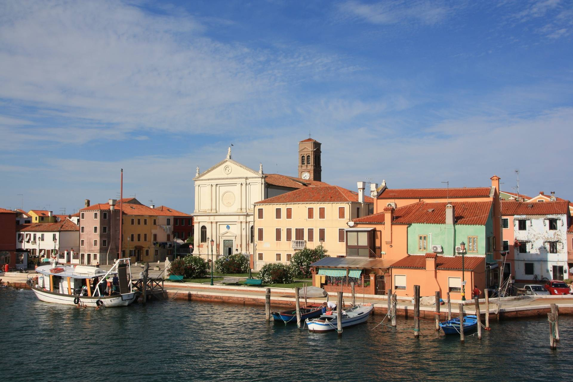 Town of Lido from Venice Lagoon
