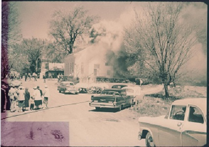 Old Church Fire