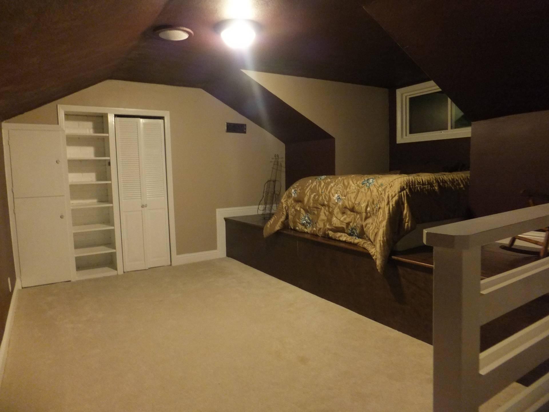 Bedroom Loft / Attic