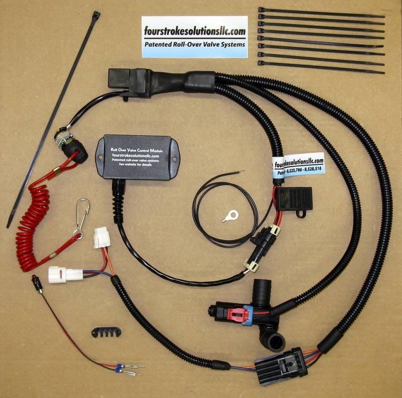 Complete Premium M1100T/M9000 Roll Over Valve kit