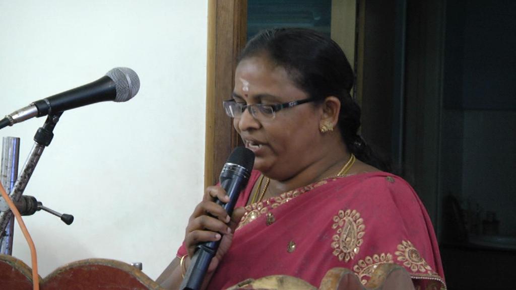 Speech by Mrs. Vijayalakshmi