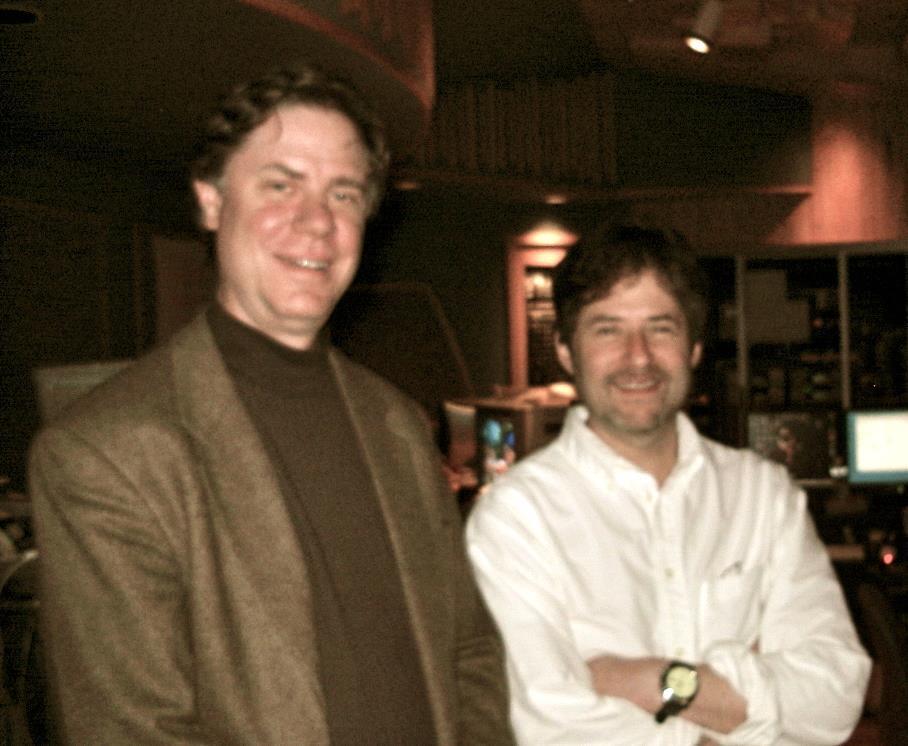 With Composer, James Horner