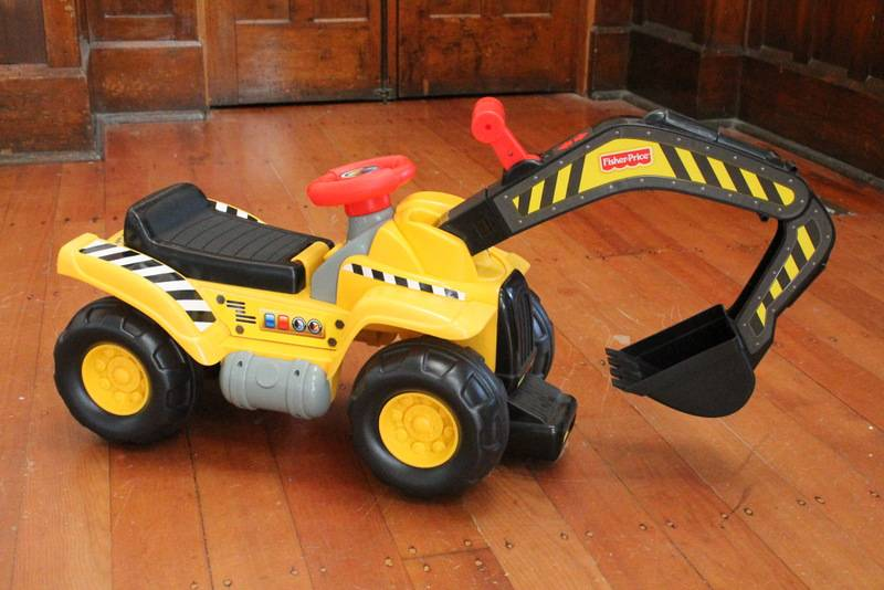 Fisher Price yellow digger
