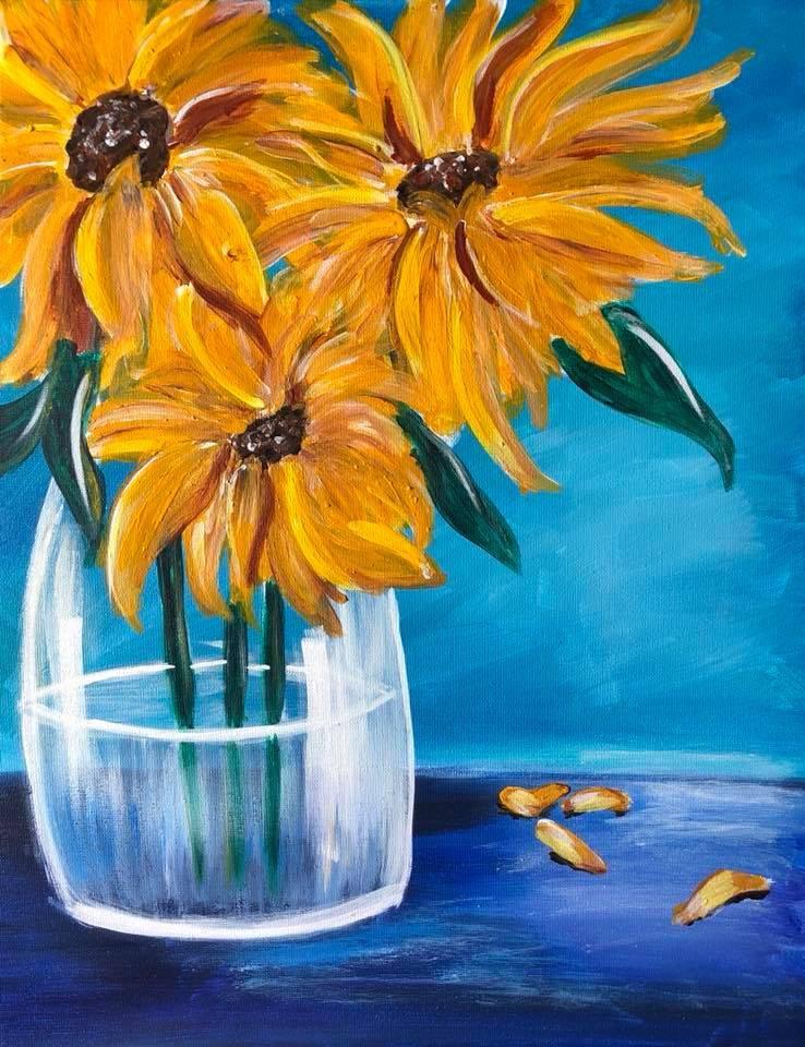 Fresh Picked Sunflowers