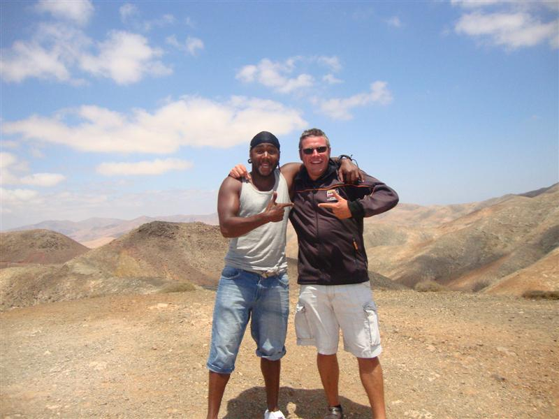 Marcel and Mark in Pajara