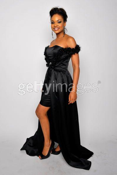Demetria Mckinney Backstage At the 40th NAACP Awards.