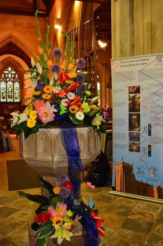 Display on the font