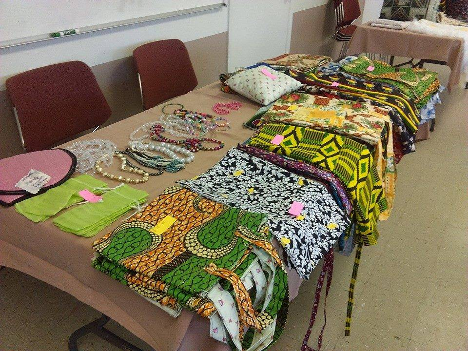 Creations by Christine Muhaweyimana at New Mexico Women's Global Pathways