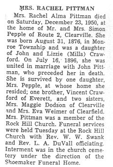 Pittman, Rachel Crawford 1950