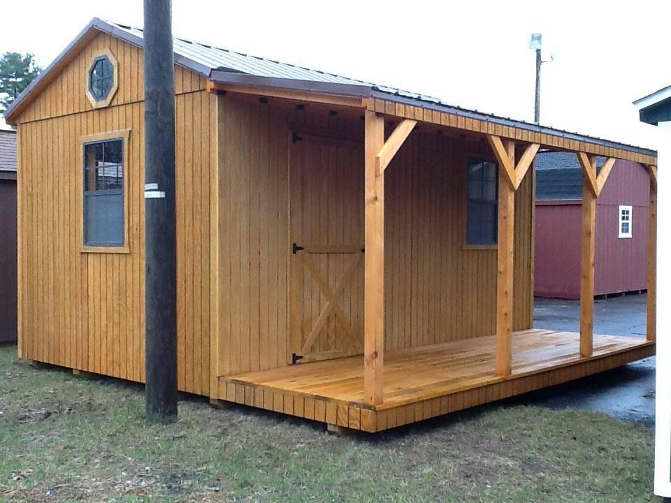 10x16 Side Utility Cabin