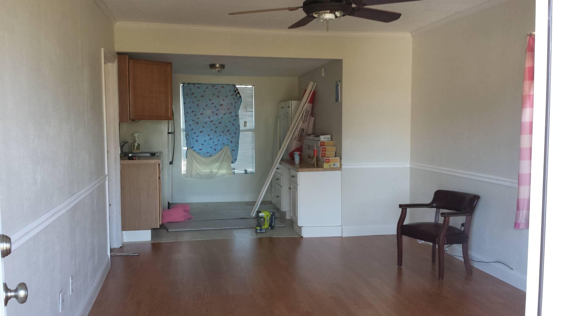 Flooring and trim