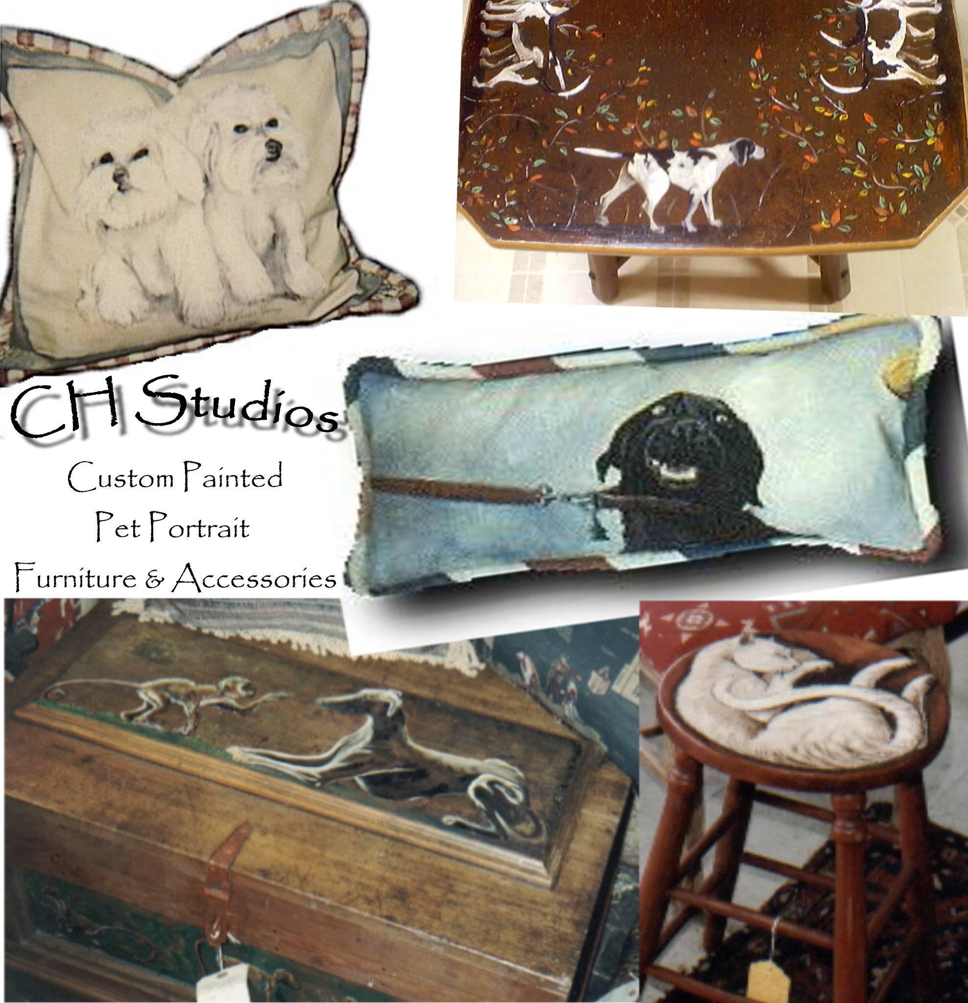 Custom Pet Portraits-Furniture & Accessories