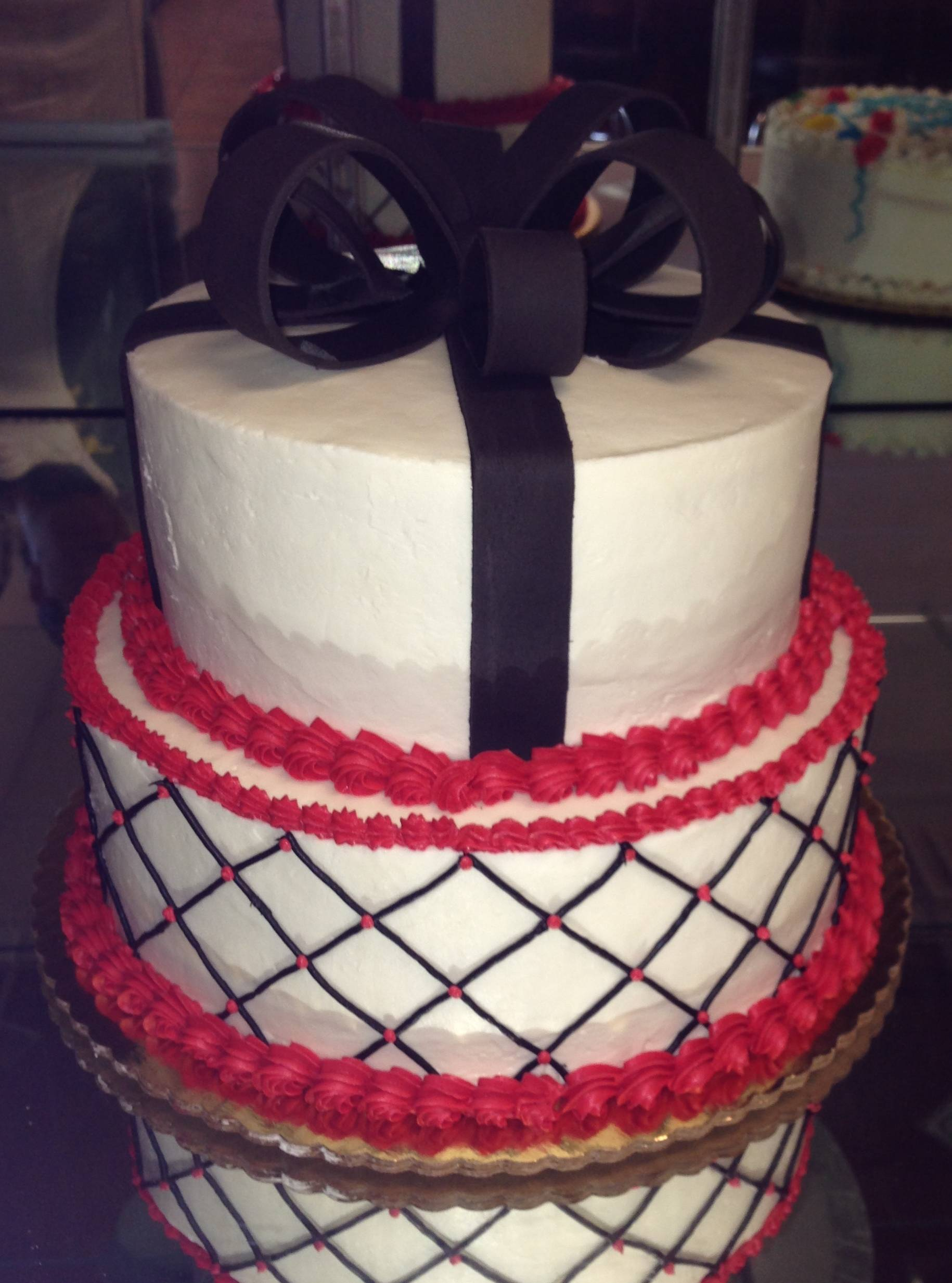 Red, Black and White Theme