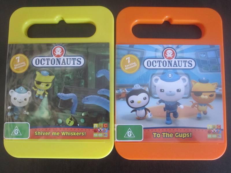 The Octonauts DVDs