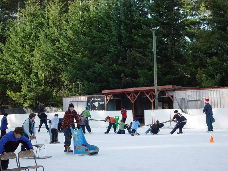 Fun on The Skating Rink