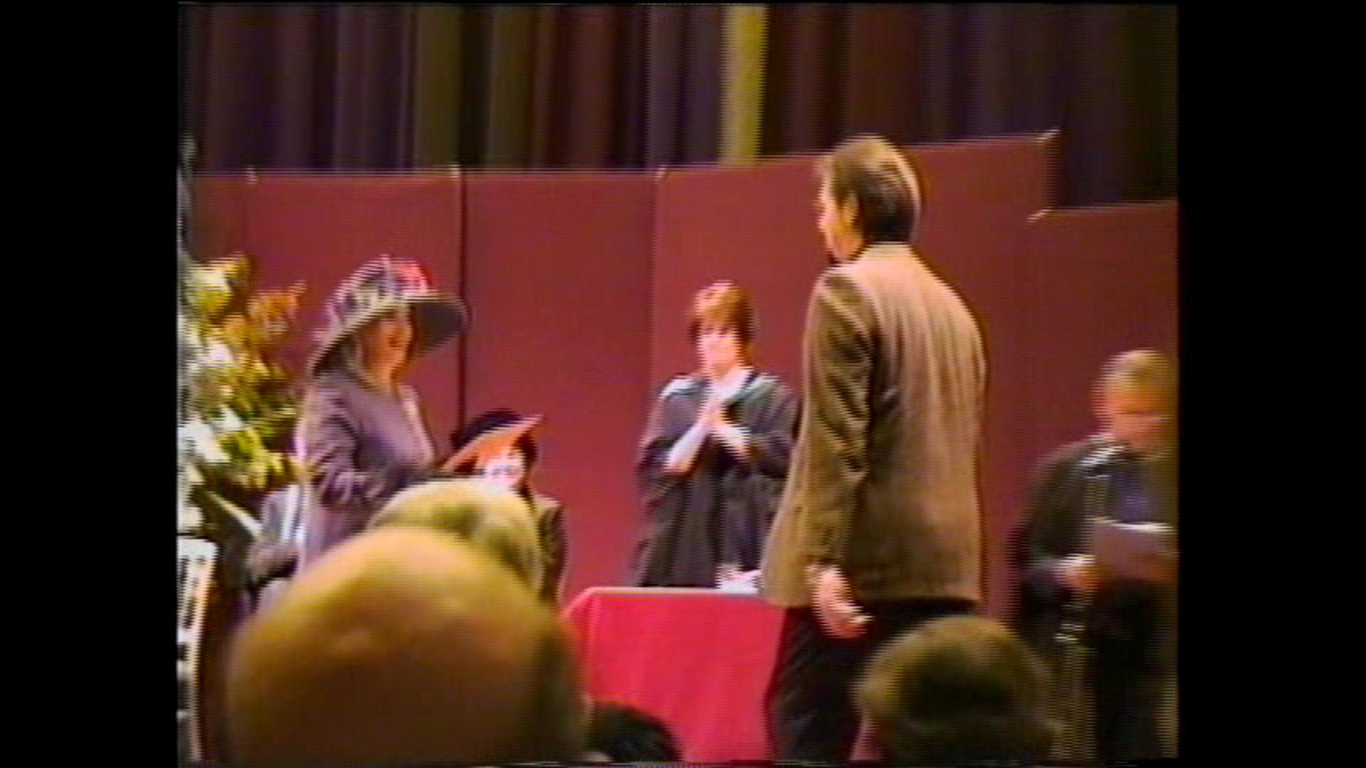 Graduation Ceremony at Guidhall School of Music, London, UK, 1999.