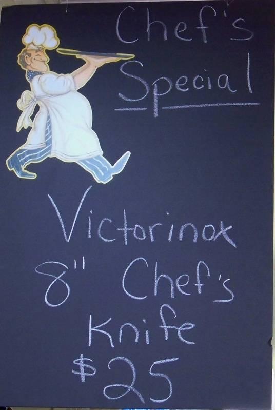 """Victorinox 8"""" Chef's Special"""