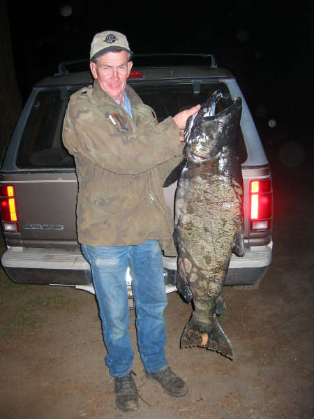 10-23-02 Walt with Cory's BIG fish!