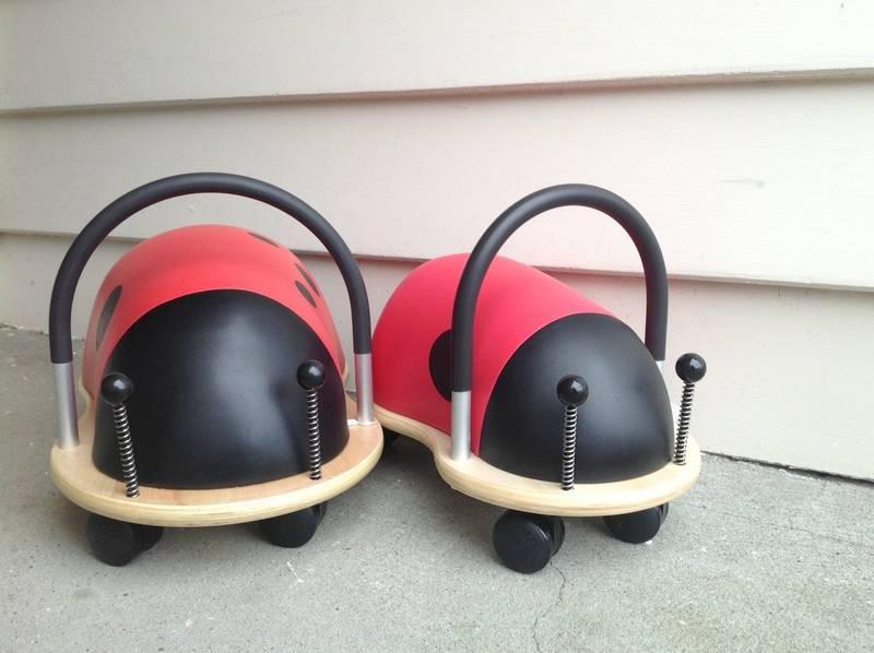 Two wheelie bugs