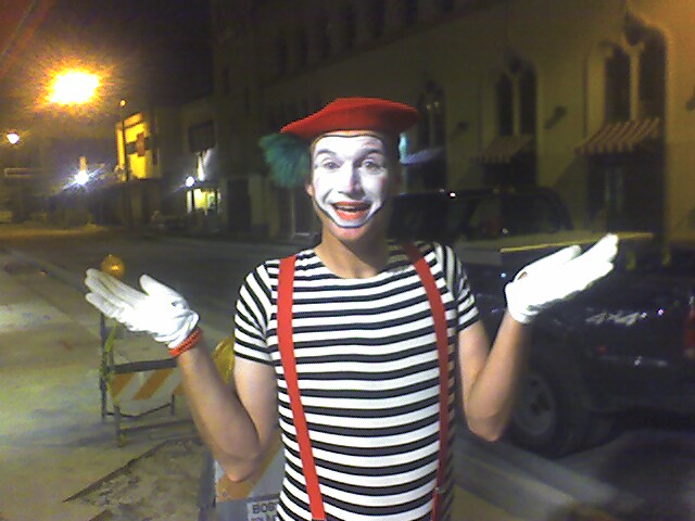 Would you Like a Mime with those Fries