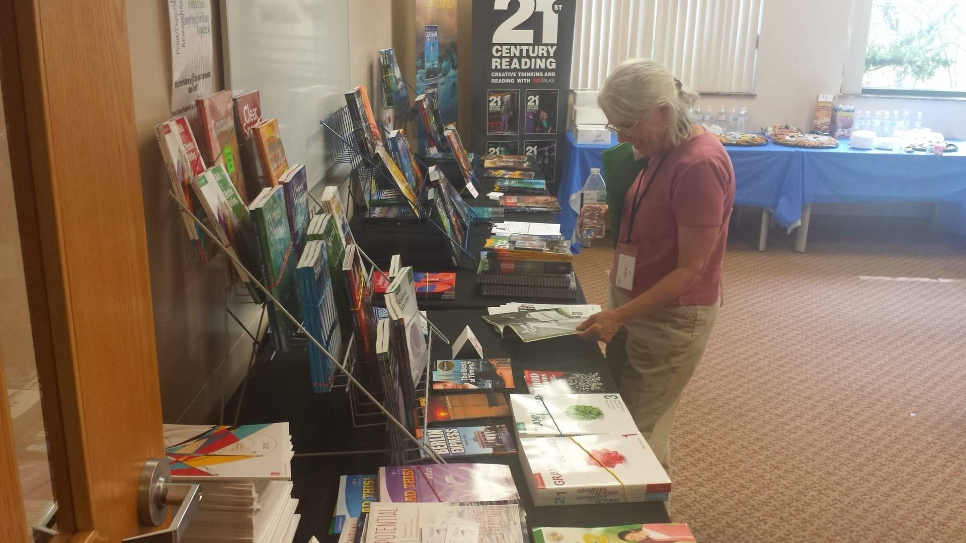Publisher displays