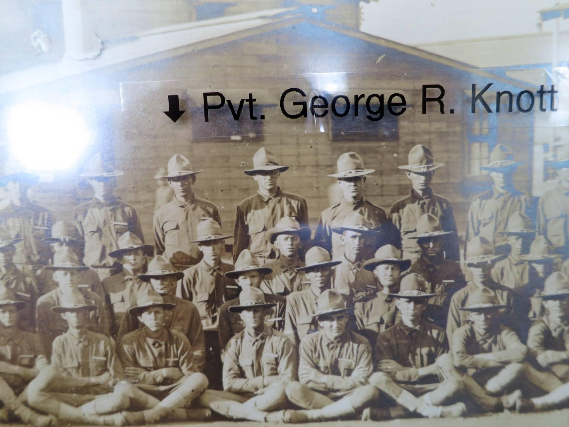 Judge at Camp Travis, Texas, 1918