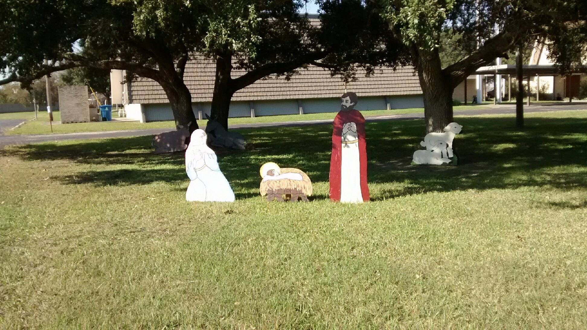 Our Nativity scene 2