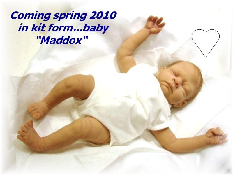 "Baby ""Maddox"" coming spring 2010 in vinyl kit"