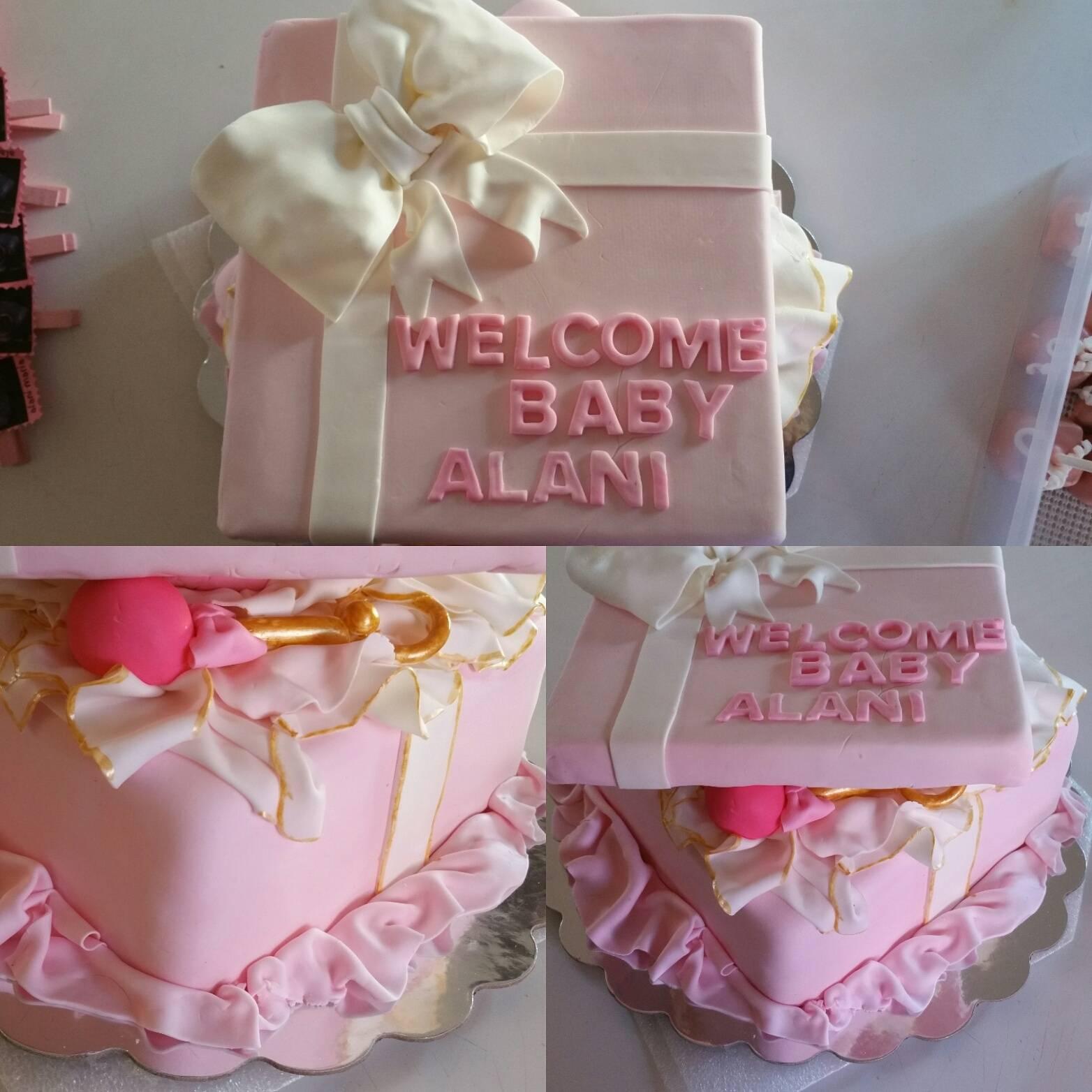 Cake Box Baby Shower