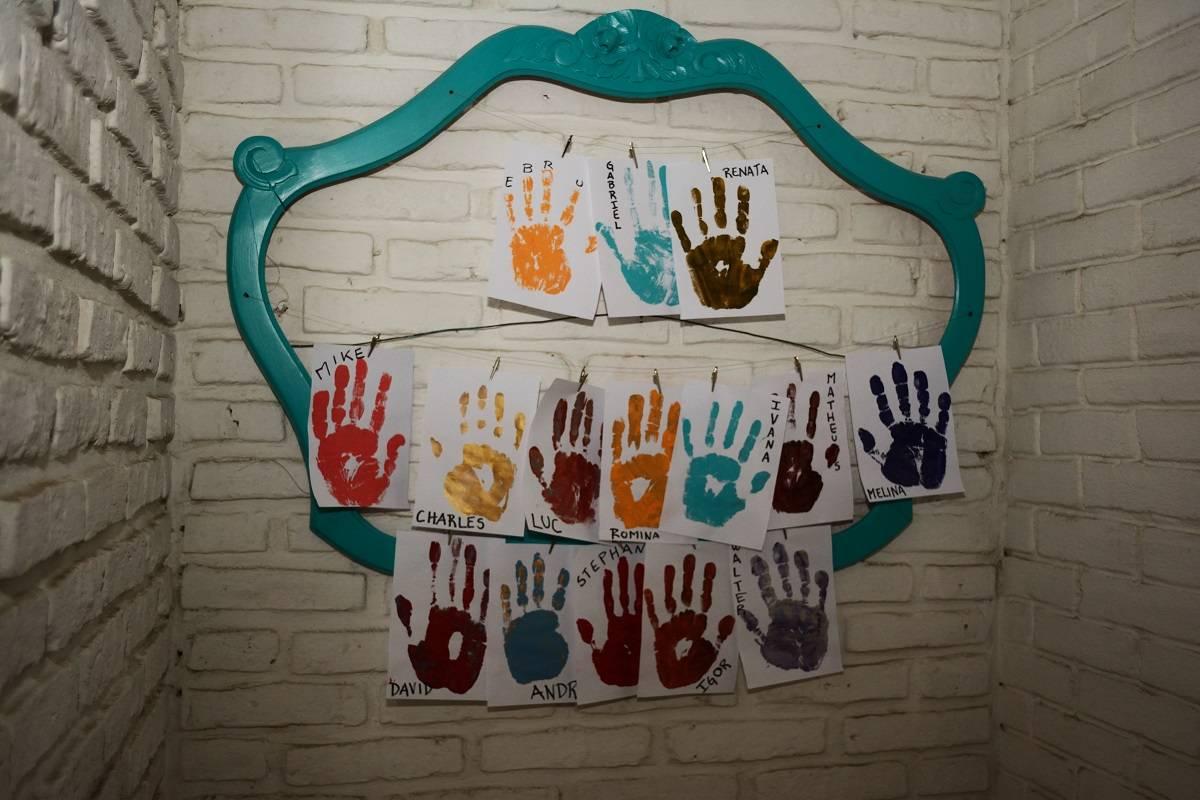 Muchas manos, muchos voluntarios