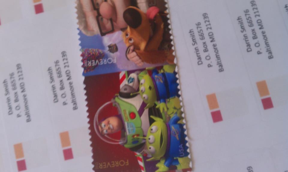 Address Labels & Stamps