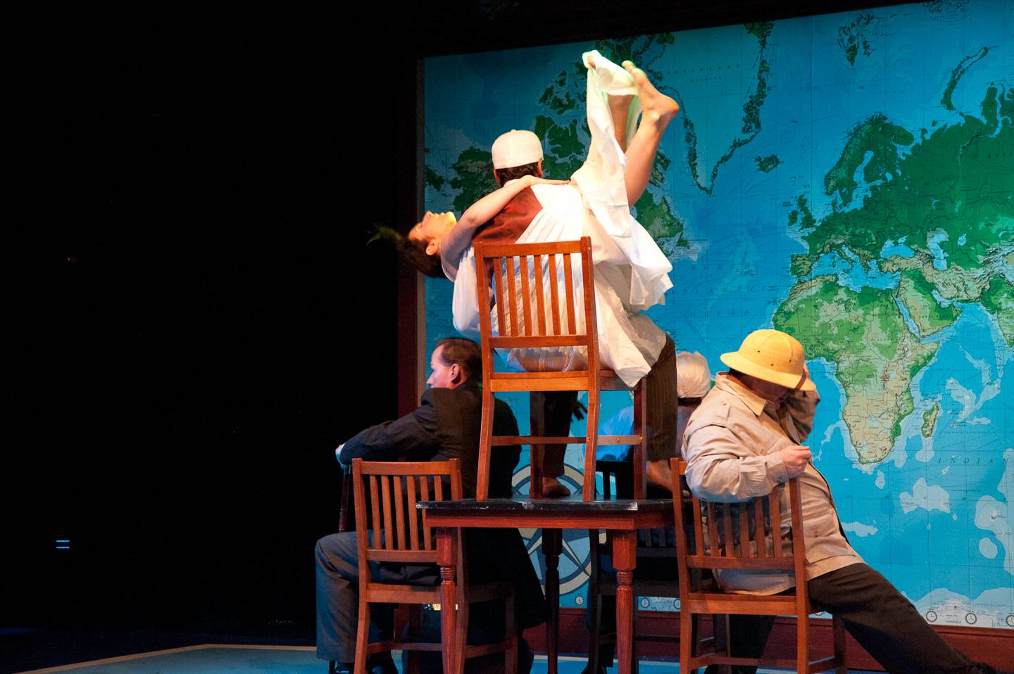 Around the World in 80 Days adapted by Mark Brown