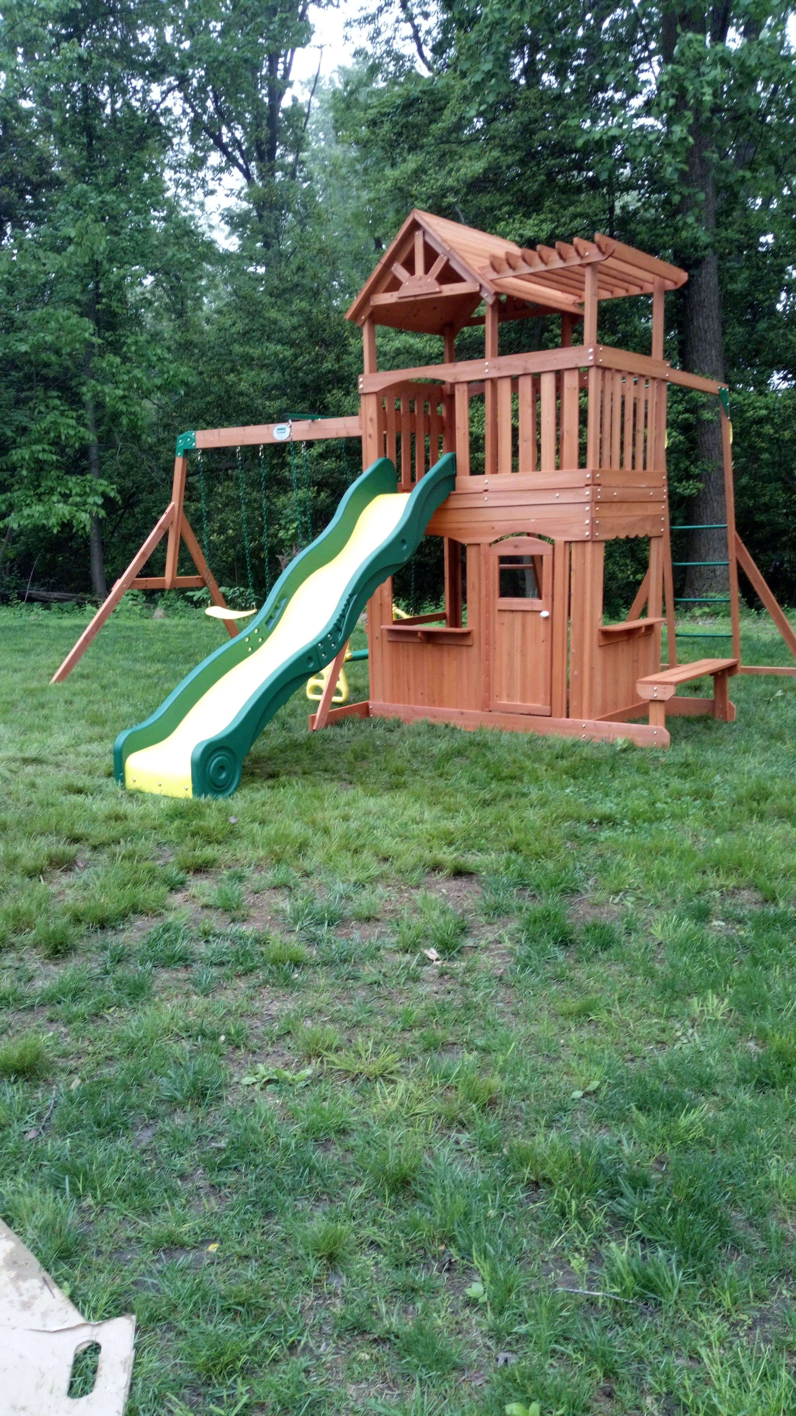 swing set installers in glenwood MD