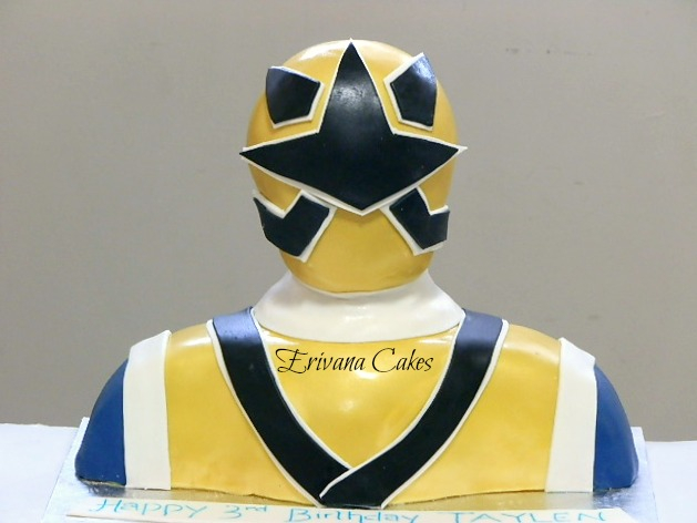 Samurai Rangers cake 2