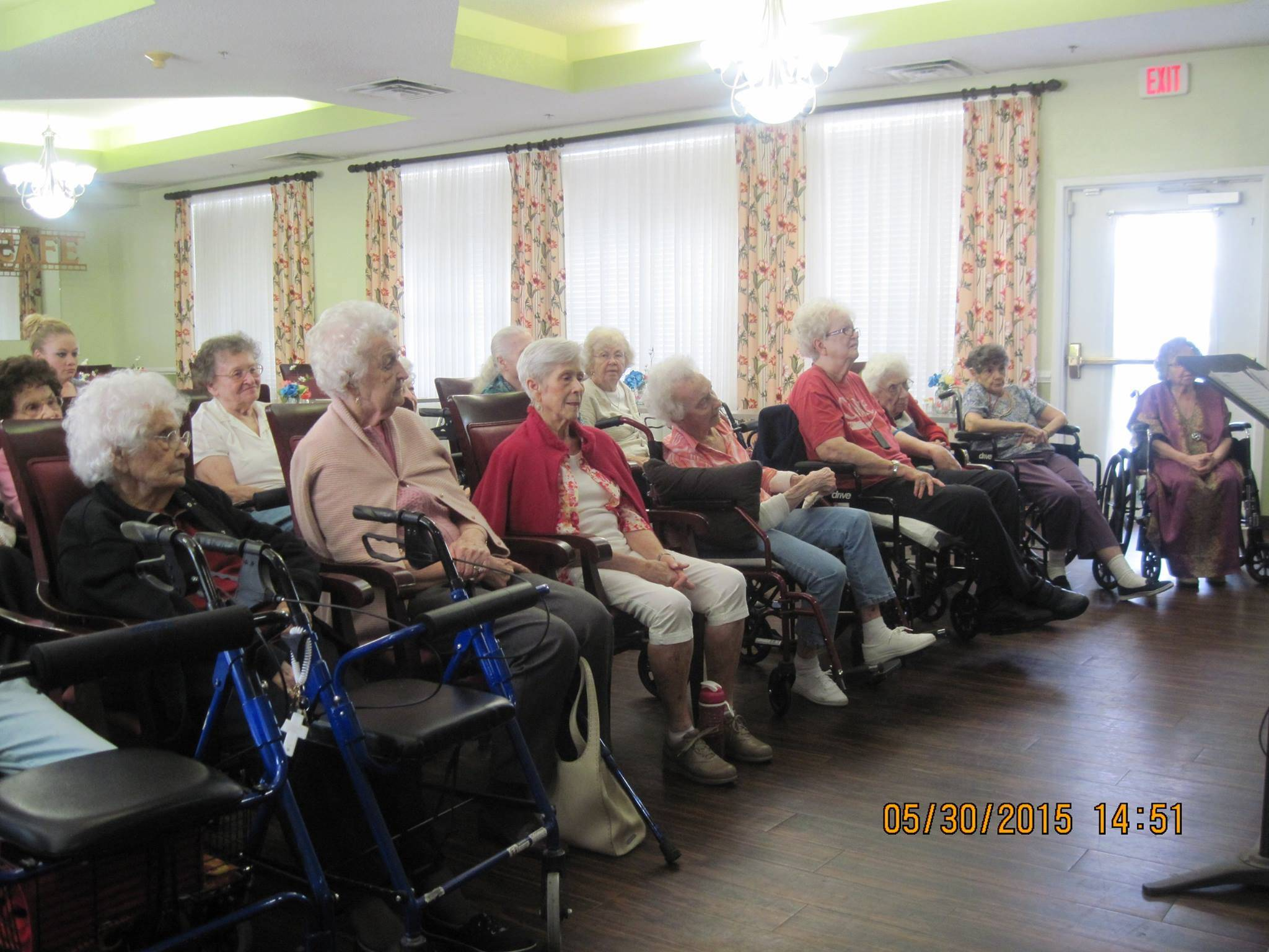 Seniors at Covenant Place
