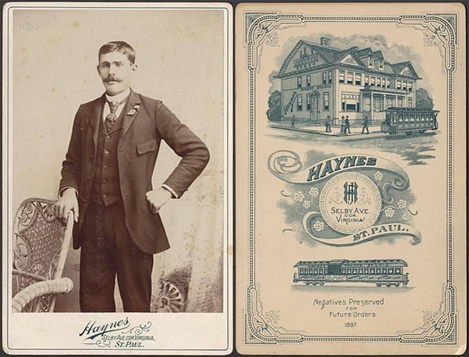 Haynes,  photographer of St. Paul, MN