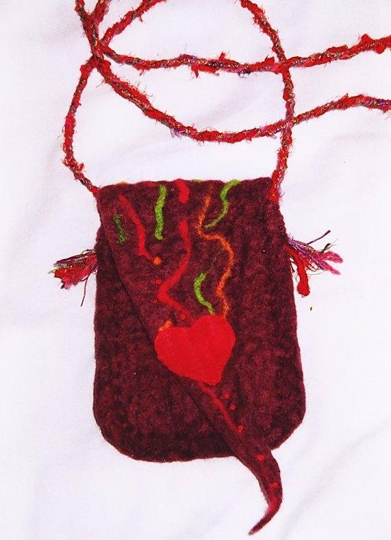 'Elf ' felt bag