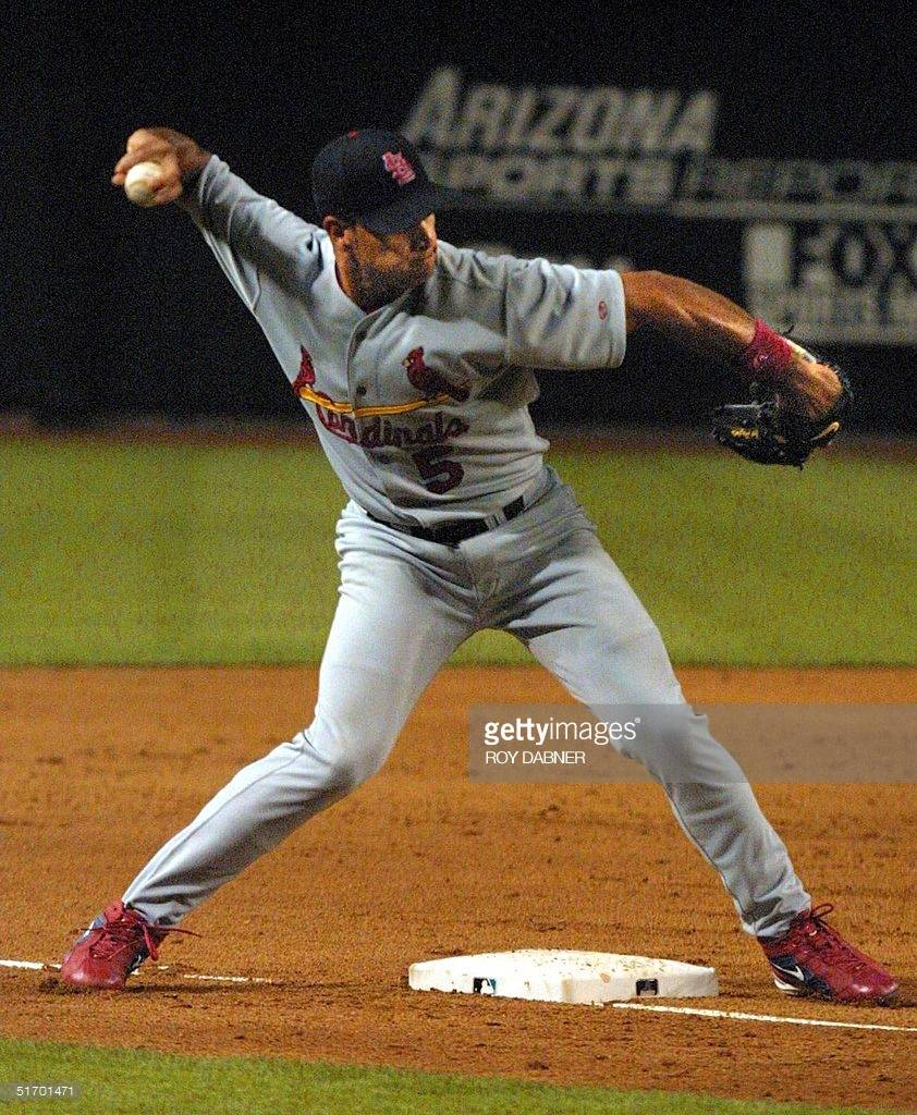 Albert Pujols 2002 Game USed Glove