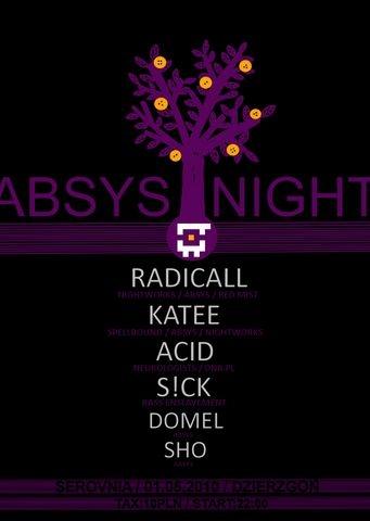 2010.05.01 - Absys Night - Serovnia @ Dzierzgon
