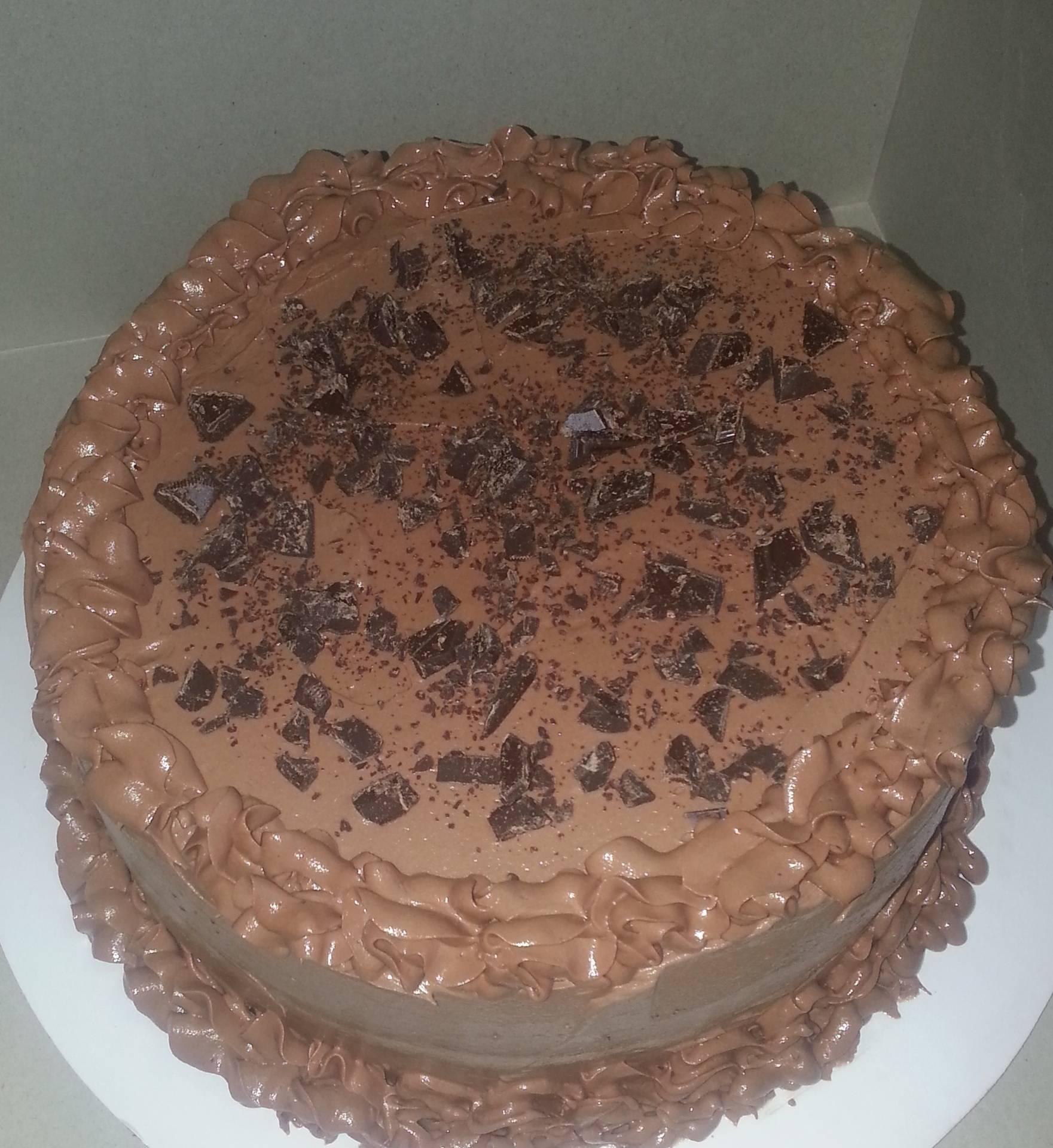 Chocolate with Chocolate Chunks