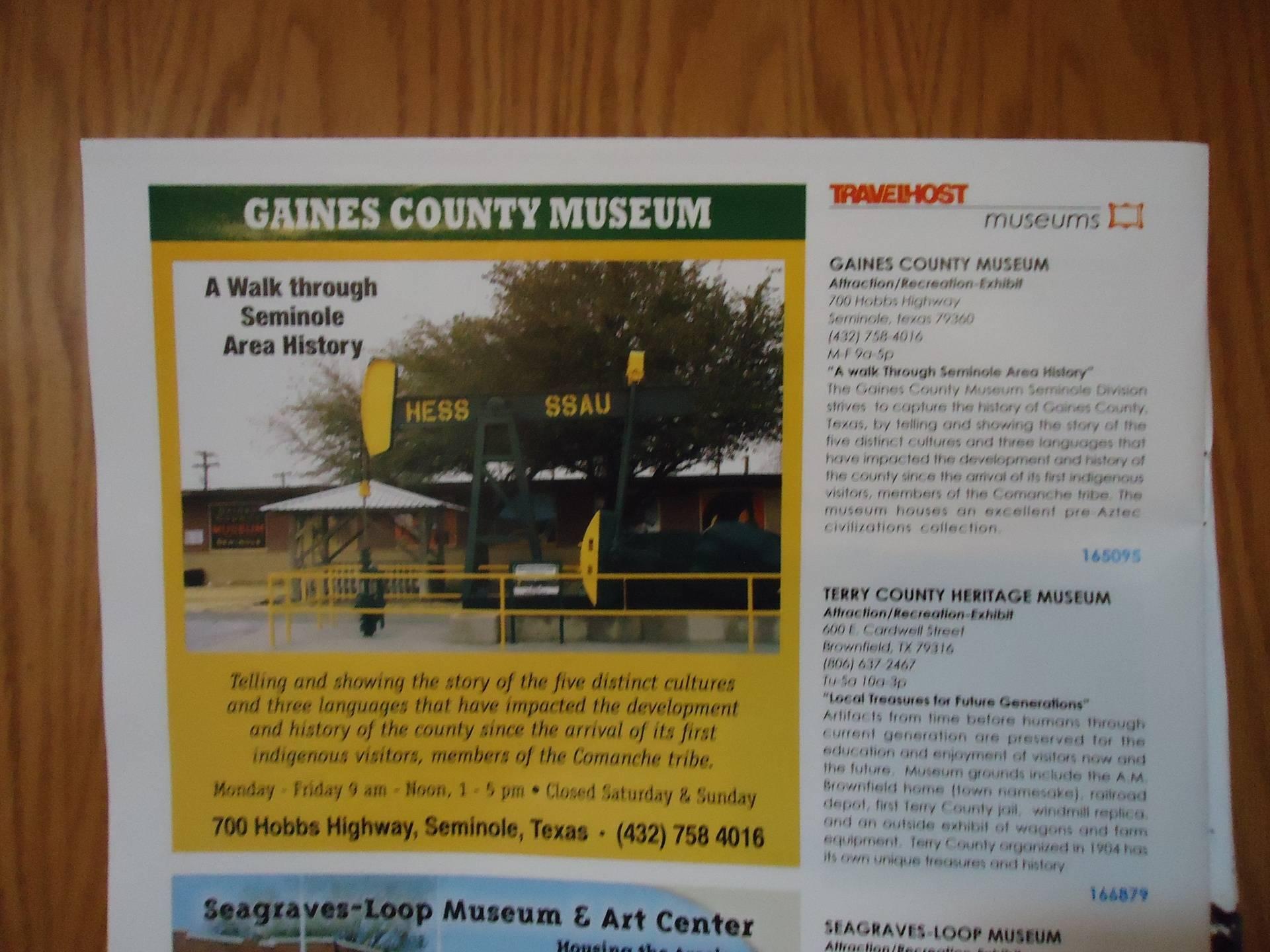 Museum featured in TravelHost Magazine