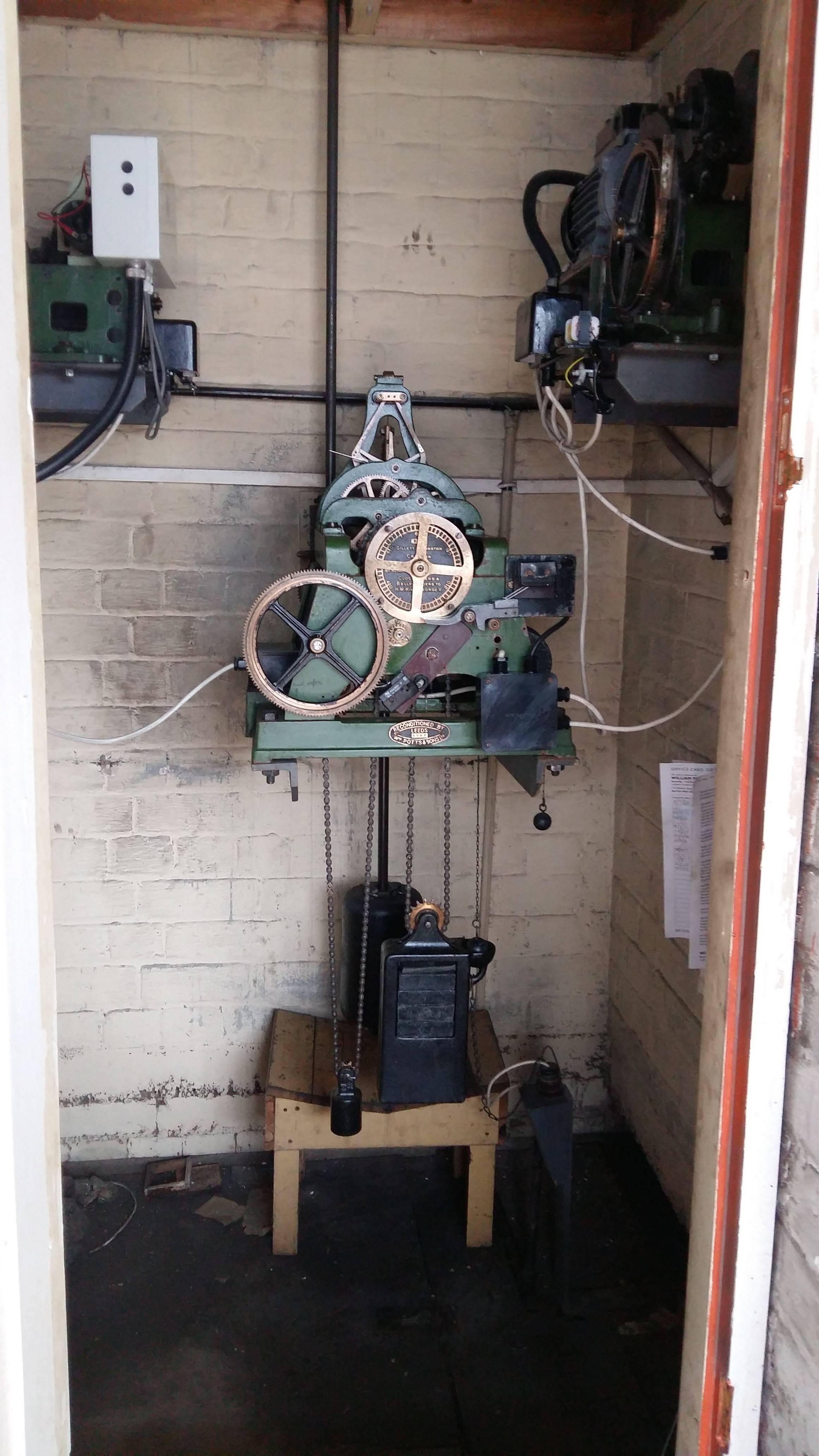 original clock mechanism