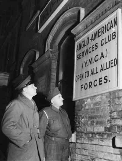 Anglo-American YMCA Servicemen's  Club