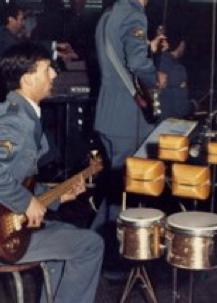 bass with Orquestra Ligeira do Exercito at Teatro Sao Luiz. Lisbon,1984